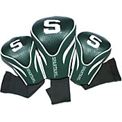Team Golf Michigan State Spartans Contour Headcovers - 3-Pack