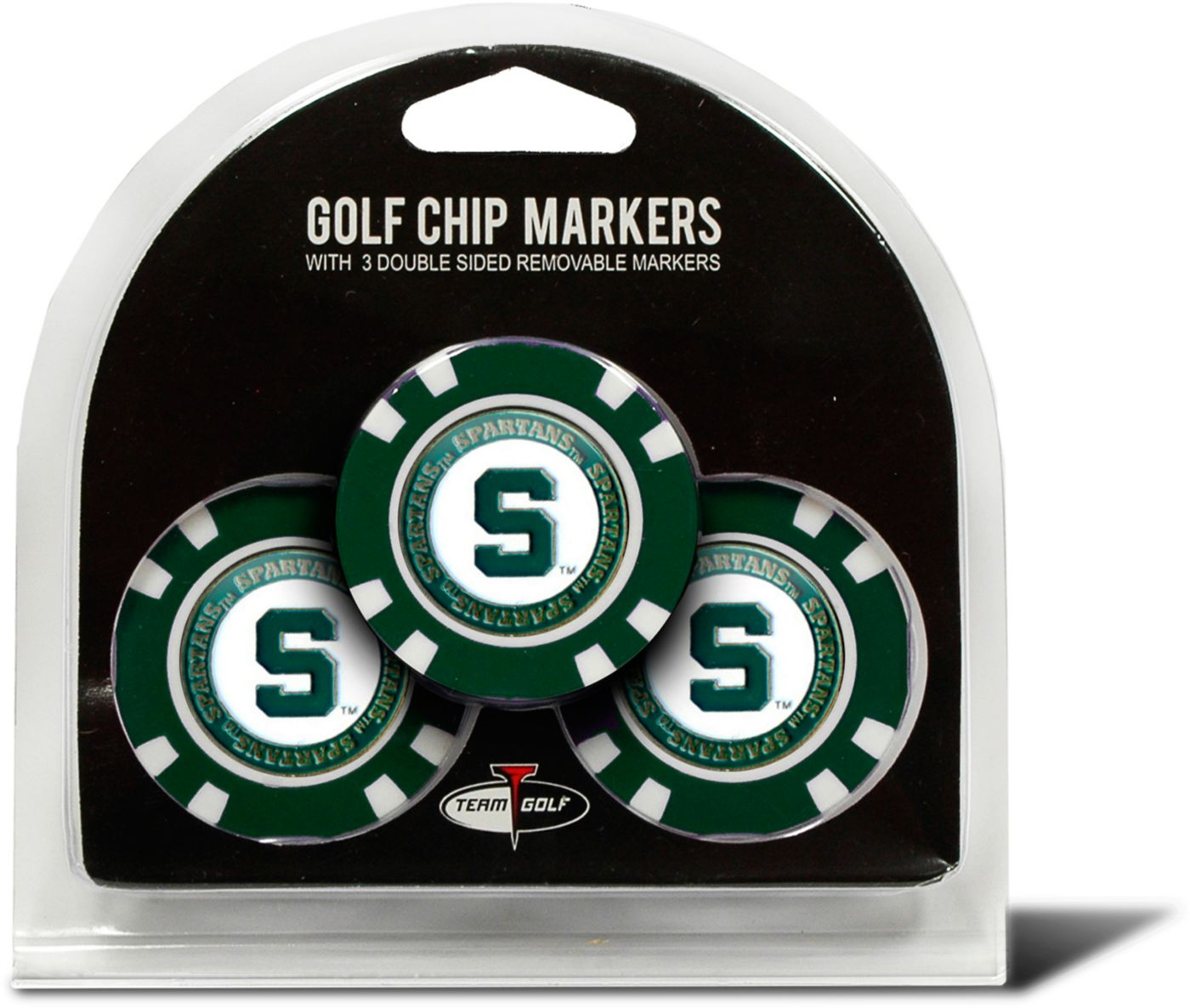 Team Golf Michigan State Spartans Golf Chips - 3 Pack