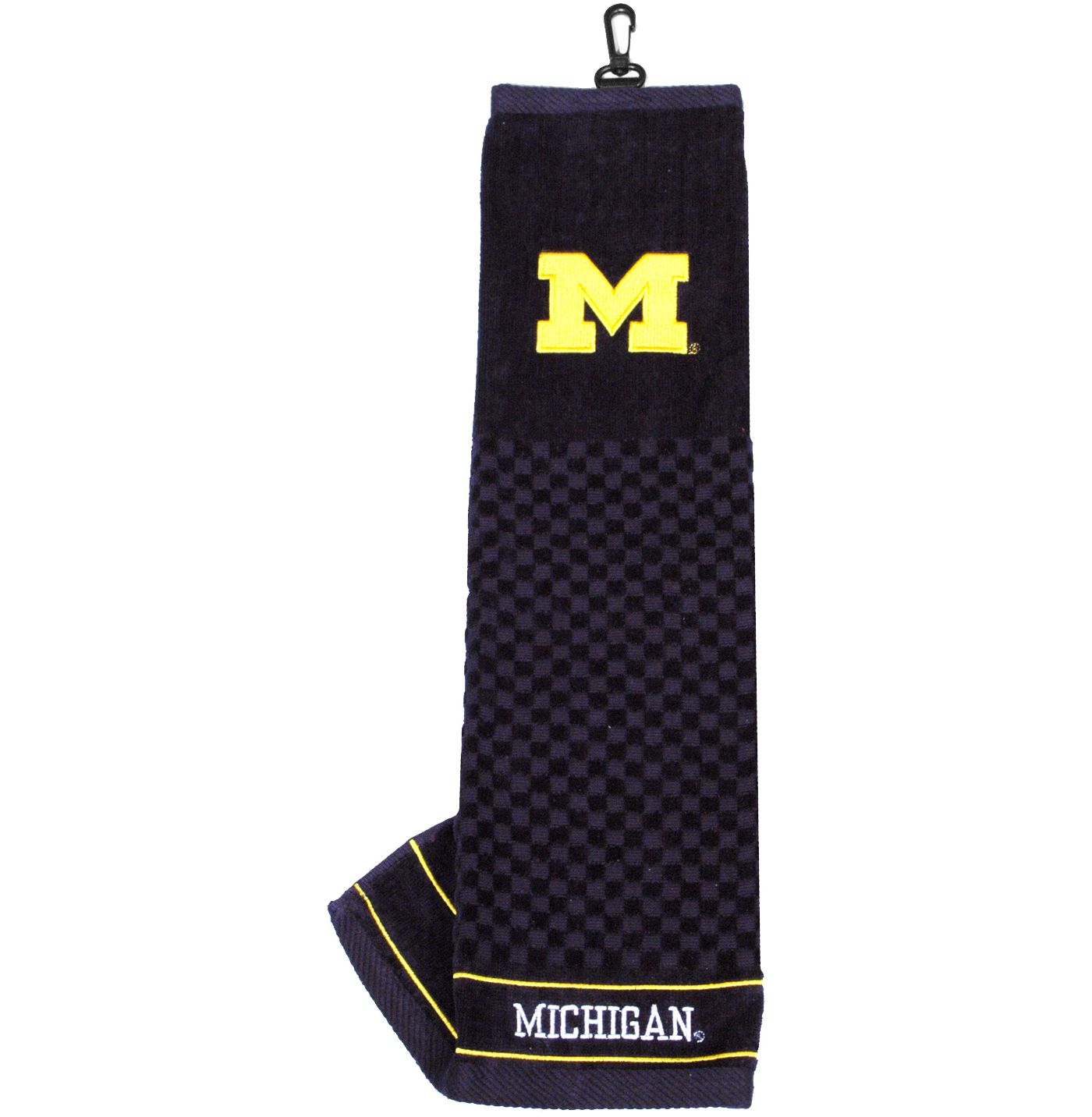 Team Golf Michigan Wolverines Embroidered Towel