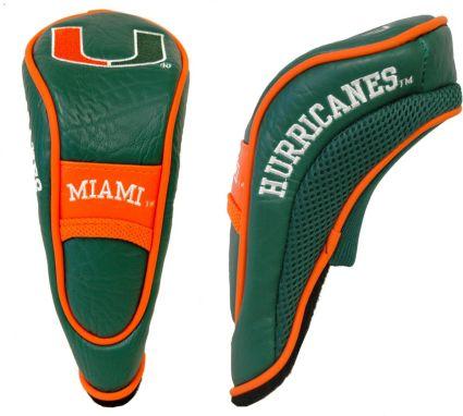 Team Golf Miami Hurricanes Hybrid Headcover