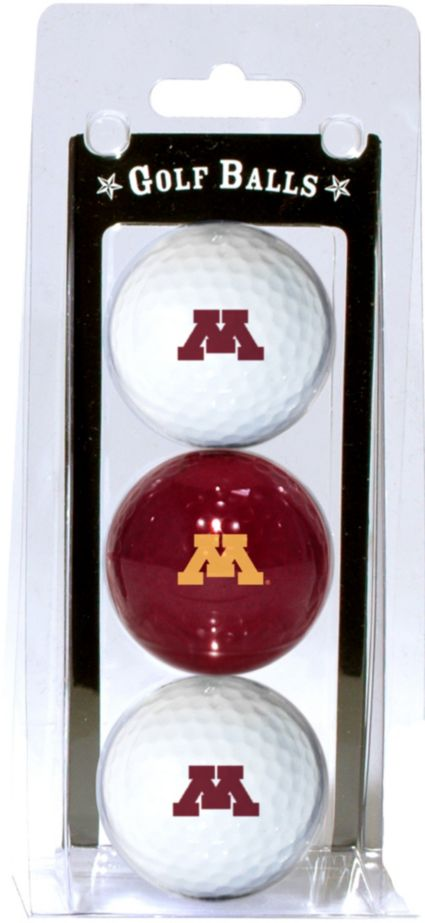 Team Golf Minnesota Golden Gophers Golf Balls - 3-Pack