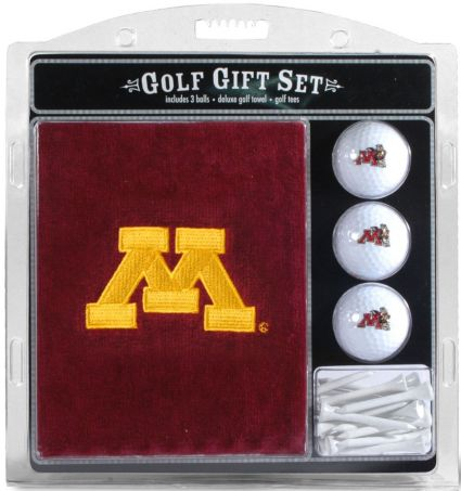 Team Golf Minnesota Golden Gophers Embroidered Towel Gift Set