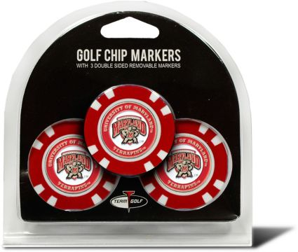 Team Golf Maryland Terrapins Golf Chips - 3 Pack