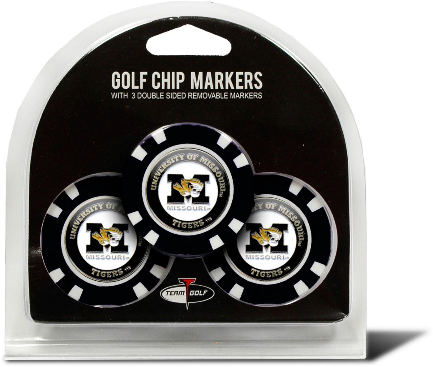 Team Golf Missouri Tigers Golf Chips - 3 Pack