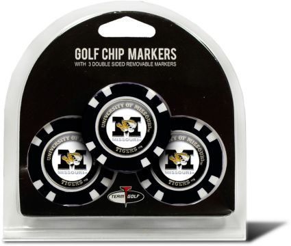 Team Golf Missouri Tigers Golf Chips - 3 Pack