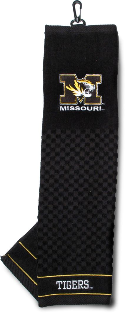Team Golf Missouri Tigers Embroidered Towel