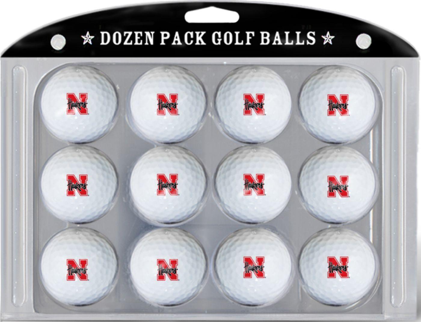 Team Golf Nebraska Cornhuskers Golf Balls