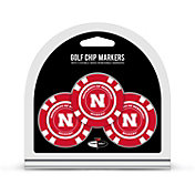 Team Golf Nebraska Cornhuskers Poker Chips Ball Markers - 3-Pack