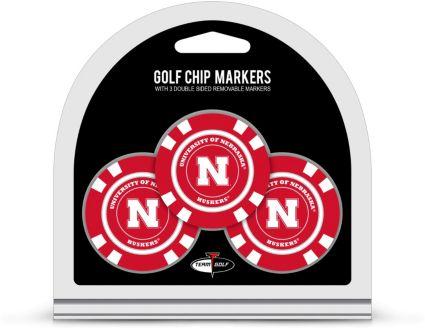 Team Golf Nebraska Cornhuskers Golf Chips - 3 Pack