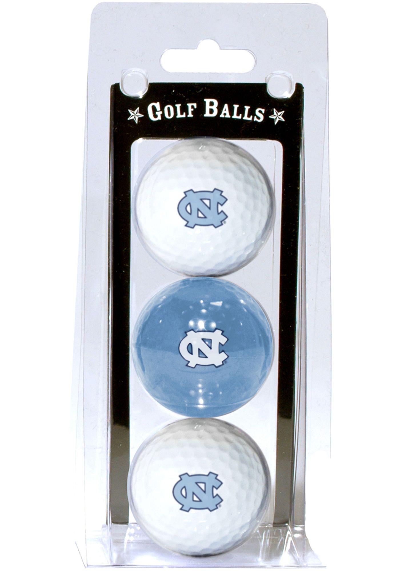 Team Golf North Carolina Tar Heels Golf Balls - 3 Pack