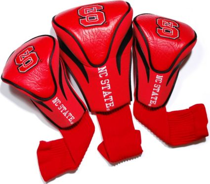 Team Golf NC State Wolfpack Contour Sock Headcovers - 3 Pack