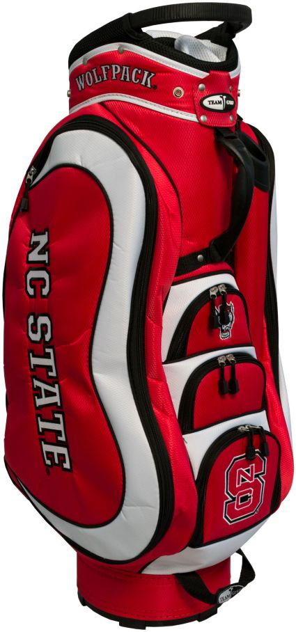 Team Golf Medalist NC State Wolfpack Cart Bag