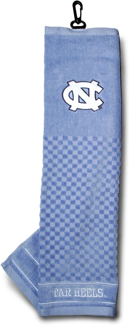Team Golf North Carolina Tar Heels Embroidered Towel