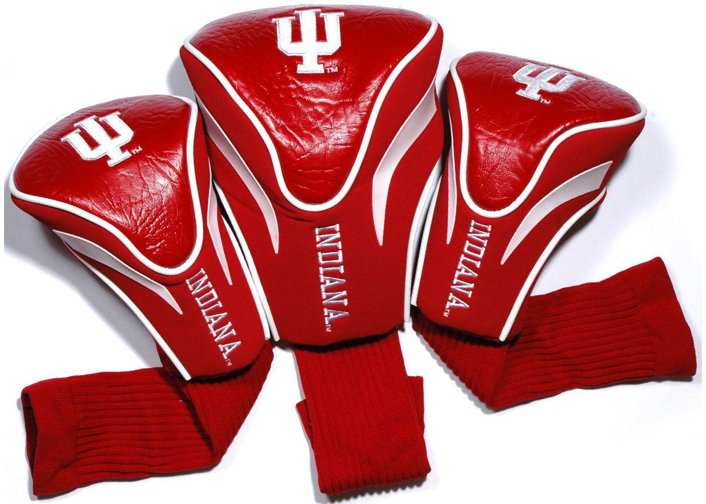 Team Golf Indiana Hoosiers Contour Sock Headcovers - 3 Pack