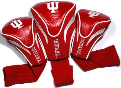 Team Golf Indiana Hoosiers Contour Sock Headcovers - 3 Pack