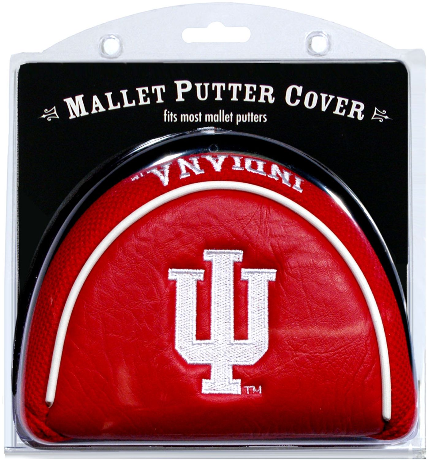 Team Golf Indiana Hoosiers Mallet Putter Cover