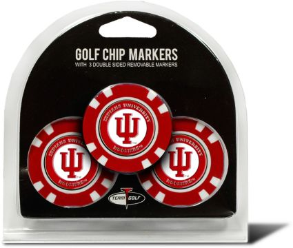 Team Golf Indiana Hoosiers Golf Chips - 3 Pack