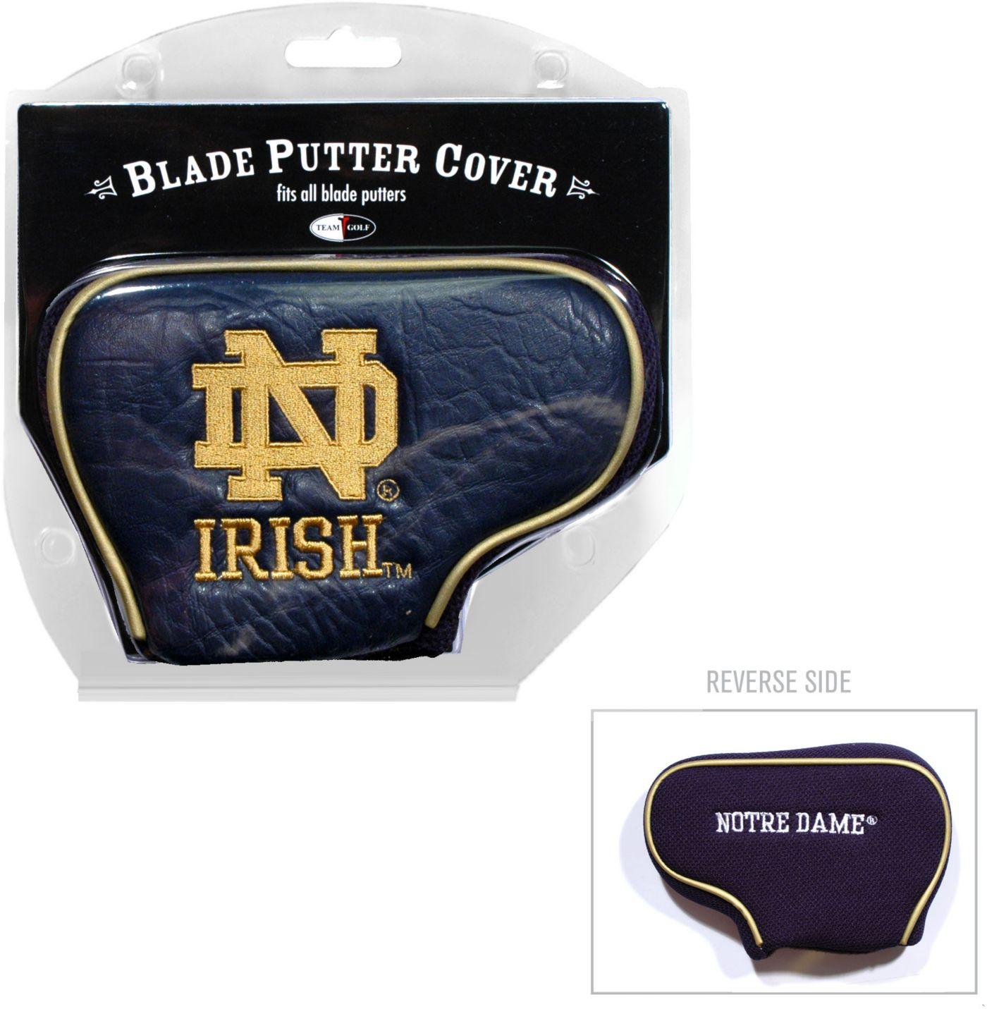 Team Golf Notre Dame Fighting Irish NCAA Blade Putter Cover