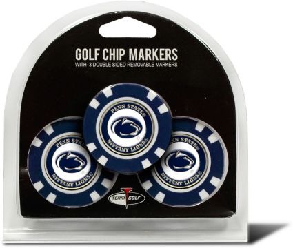 Team Golf Penn State Nittany Lions Golf Chips - 3 Pack