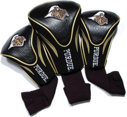 Team Golf Purdue Boilermakers Contour Sock Headcovers - 3 Pack