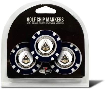 Team Golf Purdue Boilermakers Golf Chips - 3 Pack