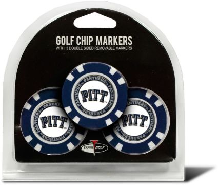 Team Golf Pitt Panthers Golf Chips - 3 Pack