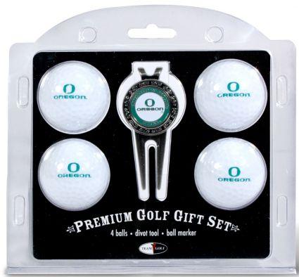 Team Golf Oregon Ducks Golf Ball/Divot Tool Set