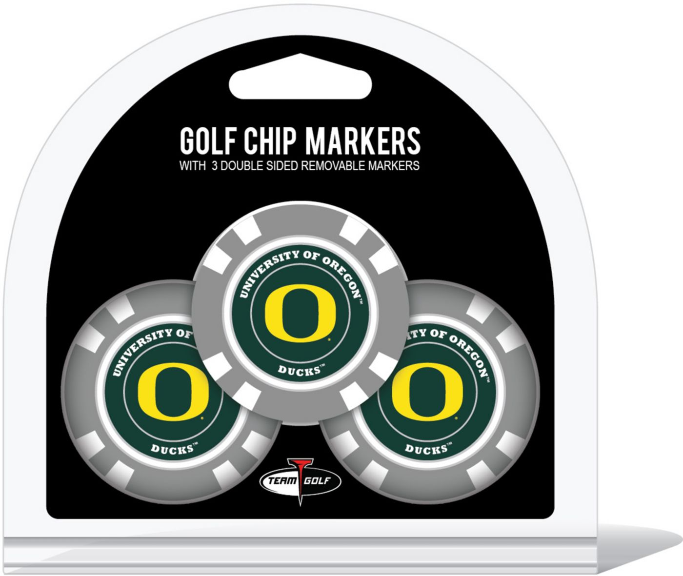 Team Golf Oregon Ducks Golf Chips - 3 Pack