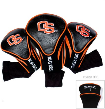Team Golf Oregon State Beavers Contour Sock Headcovers - 3 Pack