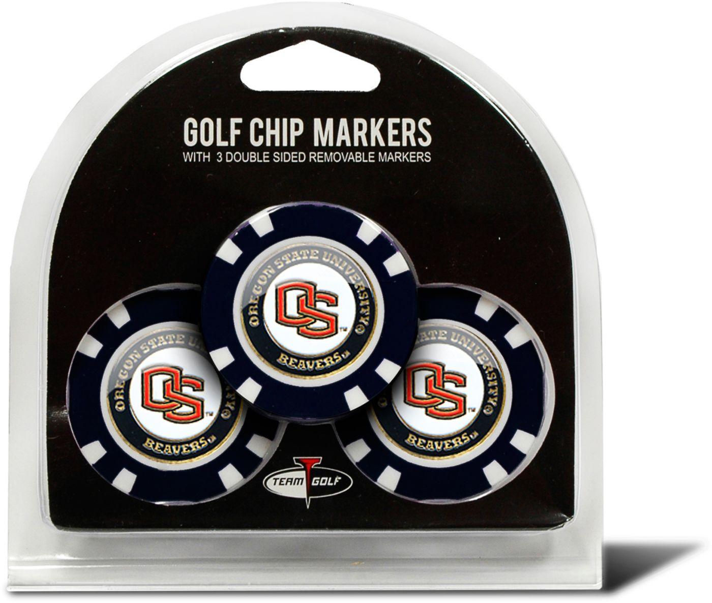Team Golf Oregon State Beavers Golf Chips - 3 Pack