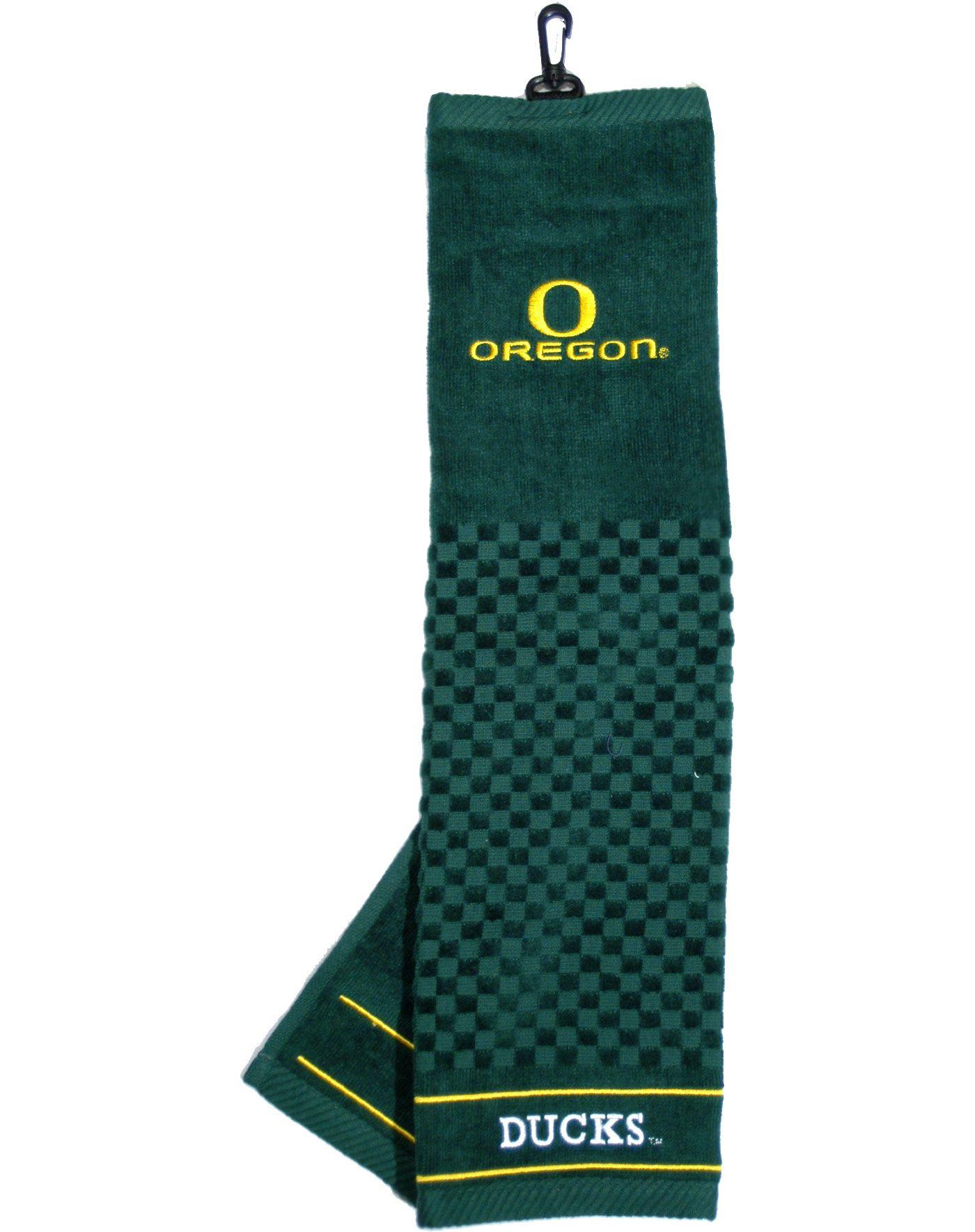 Team Golf Oregon Ducks Embroidered Towel