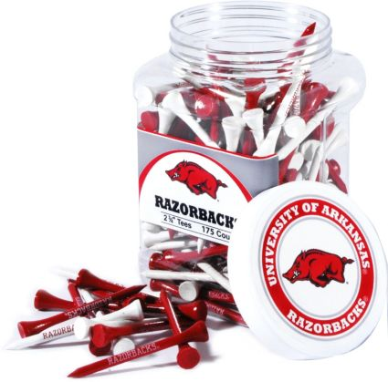 Team Golf Arkansas Razorbacks Tee Jar - 175 Pack
