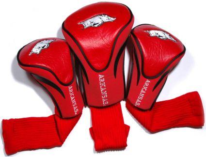 Team Golf Arkansas Razorbacks Contour Sock Headcovers - 3 Pack