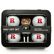 Team Golf Rutgers Scarlet Knights 4-Ball Tin Set