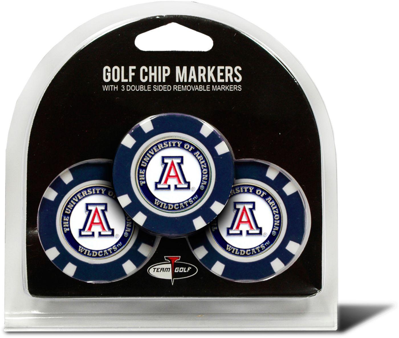 Team Golf Arizona Wildcats Golf Chips - 3 Pack