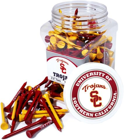 Team Golf USC Trojans Tee Jar - 175 Pack