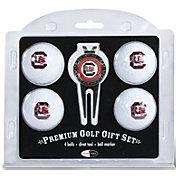 Team Golf South Carolina Gamecocks Four Golf Ball and Divot Tool Gift Set