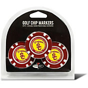 Team Golf USC Trojans Poker Chips Ball Markers - 3-Pack