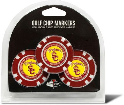 Team Golf USC Trojans Golf Chips - 3 Pack