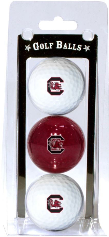 Team Golf South Carolina Gamecocks Golf Balls - 3-Pack
