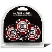 Team Golf South Carolina Gamecocks Poker Chips Ball Markers - 3-Pack