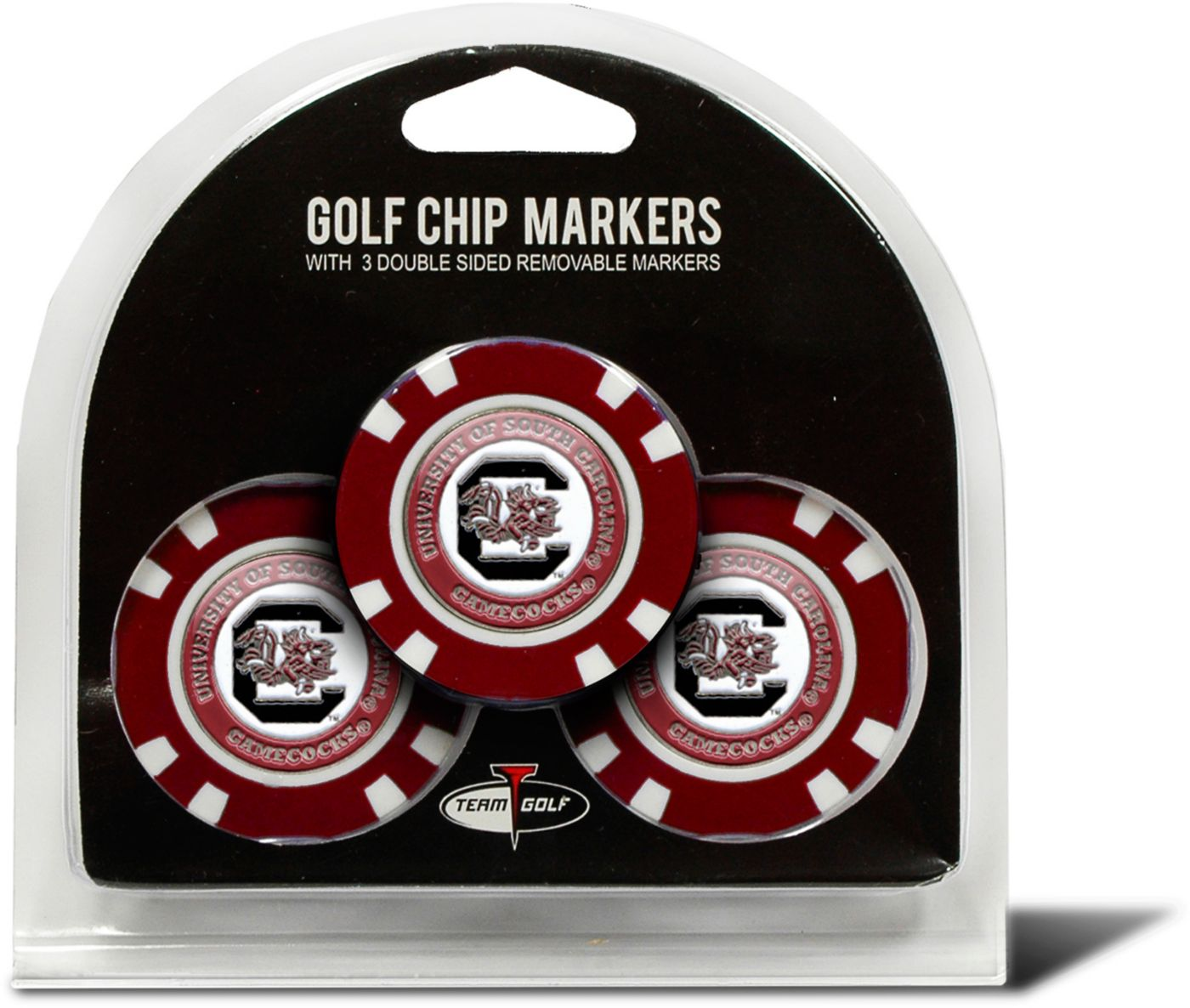 Team Golf South Carolina Gamecocks Golf Chips - 3 Pack