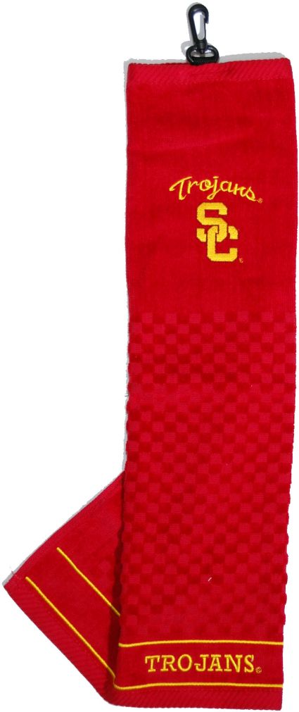 Team Golf USC Trojans Embroidered Towel