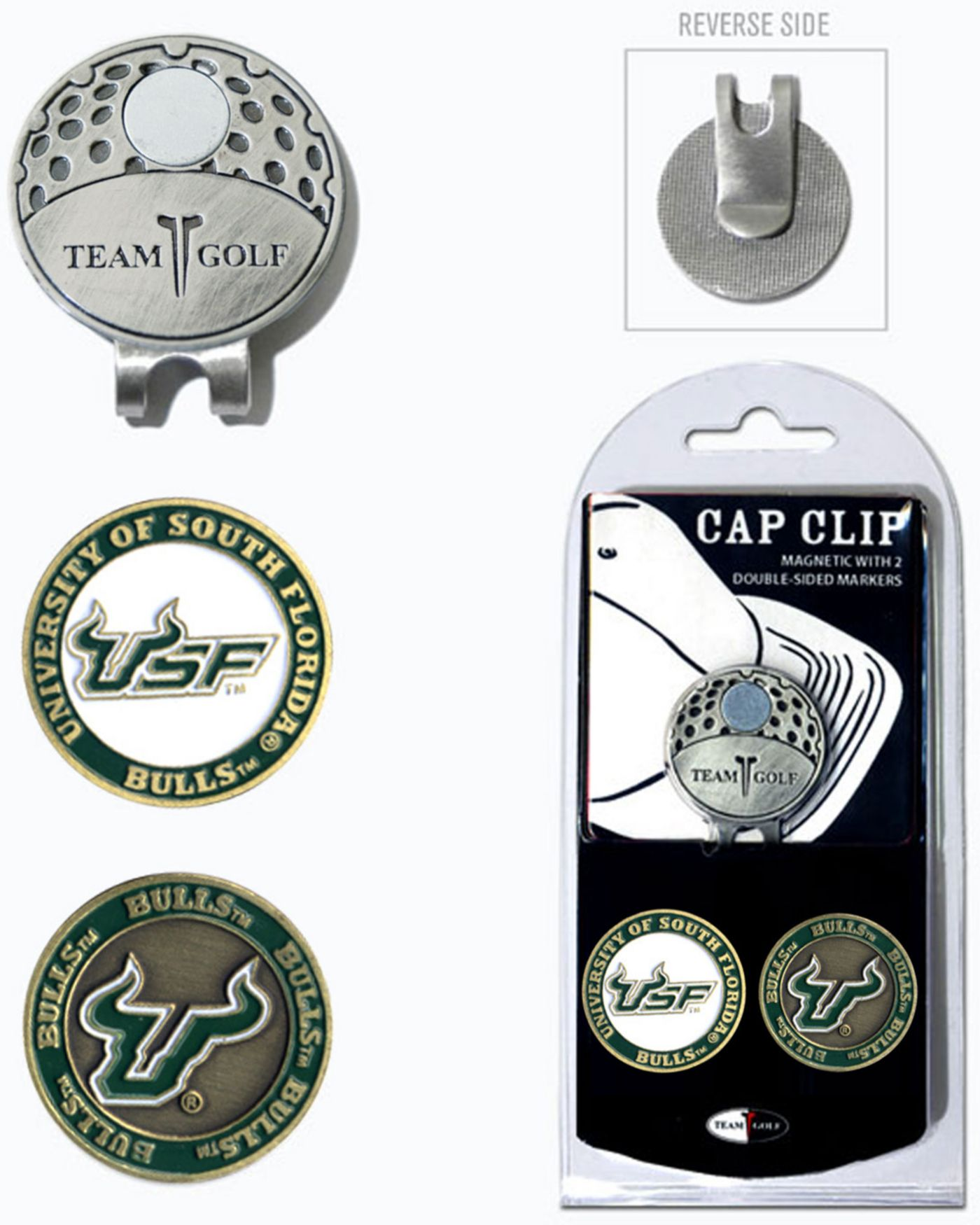 Team Golf South Florida Bulls Cap Clip