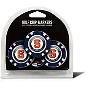 Team Golf Syracuse Orange Poker Chips Ball Markers - 3-Pack