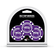 Team Golf TCU Horned Frogs Poker Chips Ball Markers - 3-Pack