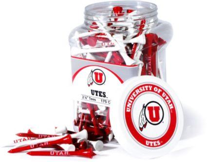 Team Golf Utah Utes Tee Jar - 175 Pack