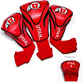 Team Golf Utah Utes Contour Headcovers - 3-Pack