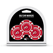 Team Golf Utah Utes Poker Chips Ball Markers - 3-Pack