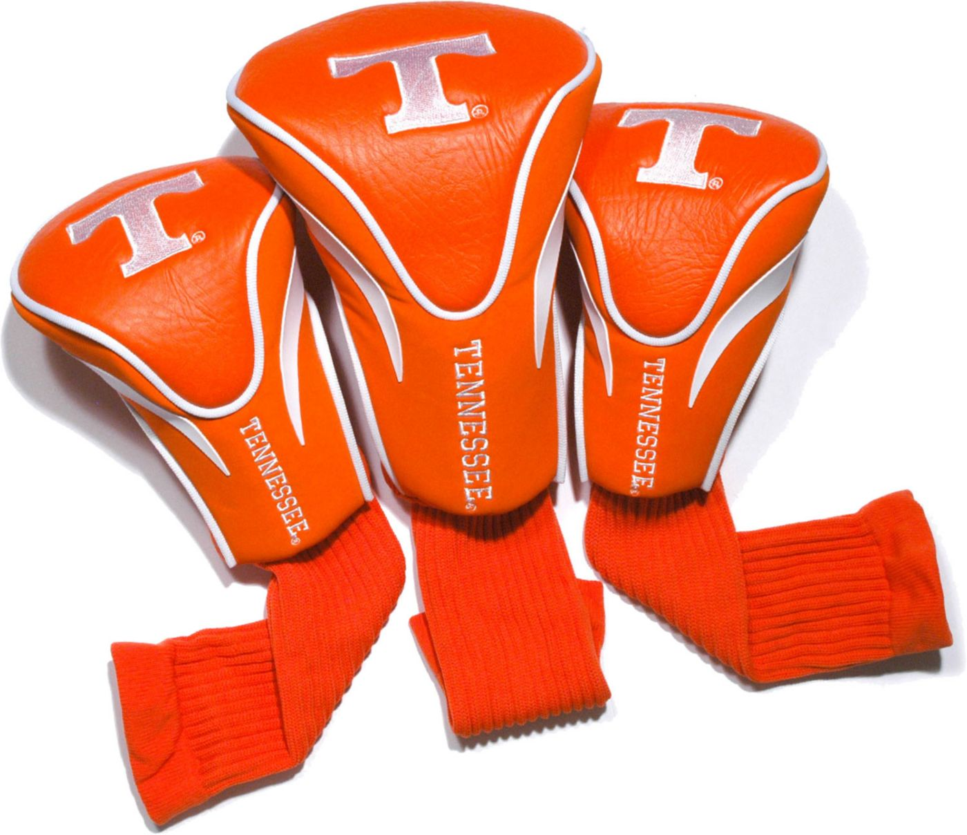 Team Golf Tennessee Volunteers Contour Sock Headcovers - 3 Pack